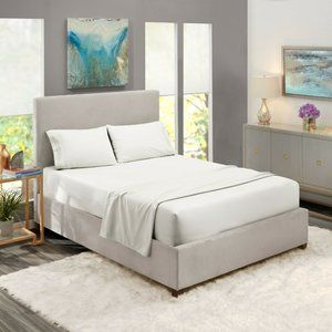 White Egyptian Comfort Bed Sheets 4 Piece! Sale!